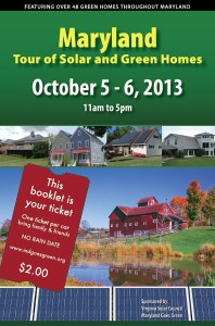 Maryland Tour of Solar and Green Homes 2013