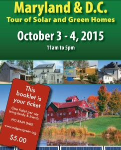 2015 Maryland & DC Tour of Solar and Green Homes – FREE Download!